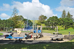 Outdoor playground Stock Images