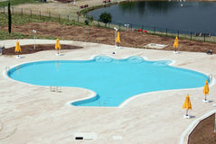 Outdoor Pool Royalty Free Stock Image