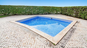 Outdoor pool. Royalty Free Stock Photo