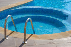 Outdoor Pool Spa Στοκ Φωτογραφία