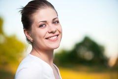 Outdoor portrait Stock Images