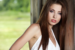 Outdoor portrait Royalty Free Stock Photography