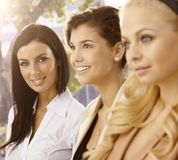 Portrait of attractive businesswomen Royalty Free Stock Images