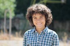 An attractive teenage boy Royalty Free Stock Photography