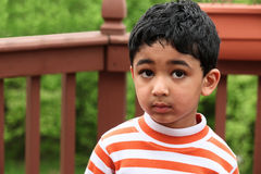 Outdoor Portrait of a  Child Royalty Free Stock Image