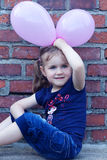 Outdoor portrait of cute girl Royalty Free Stock Image