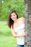 Outdoor portrait of a cute teen Royalty Free Stock Photo