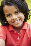 Outdoor Portrait Of Indian Boy Stock Images