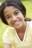 Outdoor Portrait Of Indian Girl Royalty Free Stock Photo