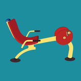 Outdoor public exercise machine Royalty Free Stock Photography