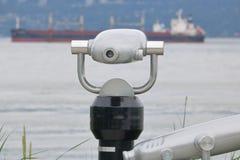 Outdoor Public Telescope Stock Photos