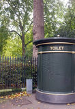 Outdoor public toilet Royalty Free Stock Images