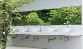 Outdoor public toilet Royalty Free Stock Photo