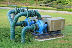Outdoor pump Stock Image