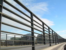 Outdoor railing bridge Stock Photos