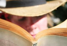 Outdoor Read Royalty Free Stock Photo