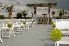Outdoor reception Stock Images