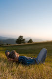 Outdoor relax stock image