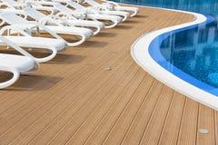 Outdoor resort pool. Stock Images