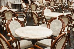 Outdoor restaurant Royalty Free Stock Image