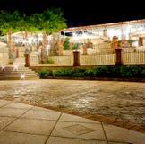 Outdoor restaurant Stock Photography