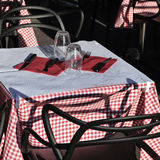 Outdoor restaurant Stock Image