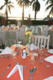 Outdoor restaurant Stock Photo