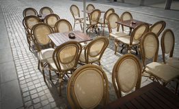 Outdoor restaurant coffee Royalty Free Stock Image