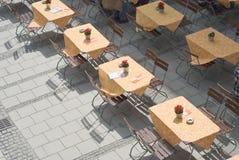 Free Outdoor Restaurant Tables Stock Photos - 14639293