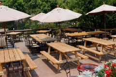 Outdoor of  restaurant Royalty Free Stock Photography