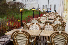 Outdoor Restaurant Royalty Free Stock Images