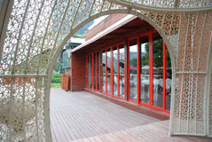 Outdoor restaurants Royalty Free Stock Image