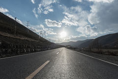 Outdoor road Royalty Free Stock Images