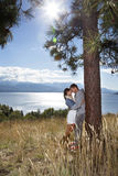 Outdoor Romance Stock Photo