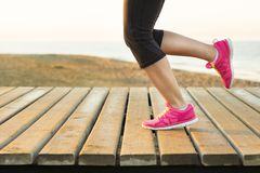 Outdoor runner Stock Image