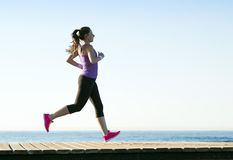 Outdoor runner Royalty Free Stock Image