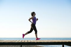 Outdoor runner Royalty Free Stock Photography