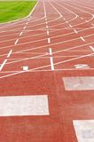 Outdoor running track Royalty Free Stock Photography