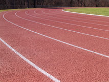 outdoor running track Stock Photography