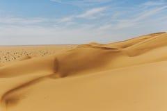 Outdoor sand pattern dune oman old desert rub al khali Stock Photo