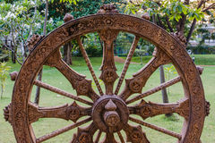 Sculpture in the garden. Royalty Free Stock Images