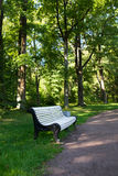 Outdoor Seat Bench Royalty Free Stock Image