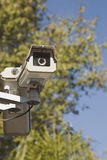 Outdoor Security Camera Royalty Free Stock Photo