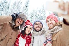 Outdoor selfie Royalty Free Stock Image
