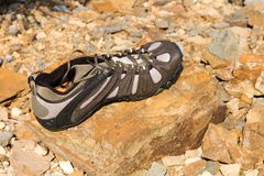 Outdoor shoes Stock Photos