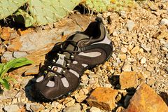 Outdoor shoes Stock Photography