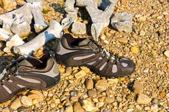 Outdoor shoes Royalty Free Stock Image