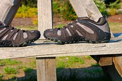 Outdoor shoes Royalty Free Stock Photos