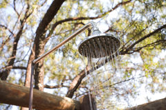 Outdoor Shower Royalty Free Stock Photography