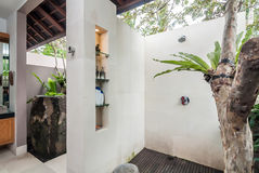 Outdoor shower Royalty Free Stock Images